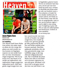 Heaven Magazine (NL) Reviews Radio Dial